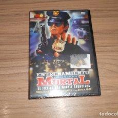 Cine: ENTRENAMIENTO MORTAL DVD NUEVA PRECINTADA. Lote 191332563