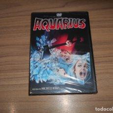 Cine: AQUARIUS EDICION ESPECIAL DVD + EXTRAS TERROR NUEVA PRECINTADA. Lote 222645631