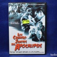 Cine: LOS CUATRO JINETES DEL APOCALIPSIS -DVD. Lote 181563788