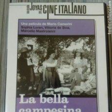 Cine: DVD LA BELLA CAMPESINA - SOPHIA LOREN. Lote 181576092