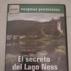Cine: EL SECRETO DEL LAGO NESS. MASONES, FANTASMAS Y SERES EXTRAÑOS EN ESCOCIA (DVD PRECINTADO). Lote 203961217