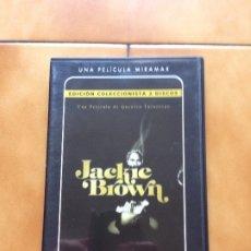 Cine: JACKIE BROWN EDICION COLECCIONISTA DVD 2 DISCOS ROBERT DE NIRO SAMUEL L JACKSON PAM GRIER. Lote 181584468