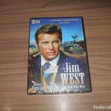 Cine: JIM WEST THE WILD WEST TEMPORADA 3 VOLUMEN 1 3 DVD 600 MIN. NUEVA PRECINTADA. Lote 279374063