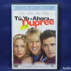 Cine: TU YO Y AHORA ... DUPREE - DVD . Lote 181780511