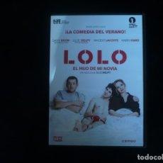 Cine: LOLO EL HIJO DE MI NOVIA - DVD CASI COMO NUEVO. Lote 181895936