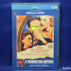Cine: A TRAVES DEL ESPEJO - DVD . Lote 181984995