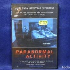 Cine: PARANORMAL ACTIVITY - DVD . Lote 181990996