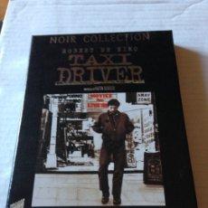 Cine: DVD TAXI DRIVER + 5 POSTALES - ROBERT DE NIRO JODIE FOSTER HARVEY KEITEL - COLECCION NOIR. Lote 182039753