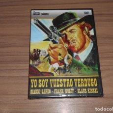 Cine: YO SOY VUESTRO VERDUGO DVD KLAUS KINSKI NUEVA PRECINTADA. Lote 270376188