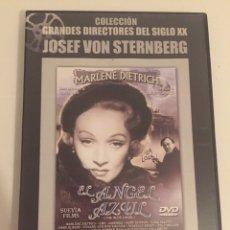 Cine: JOSEF VON STERNBERG-EL ANGEL AZUL/COLECCIÓN GRANDES DIRECTORES DEL SIGLO XX/ABC-BBVA. Lote 182216180