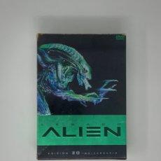 Cine: DVD ALIEN LEGACY EDICION 20 ANNIVERSARY 4 FILMS. Lote 182303646