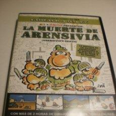 Cine: DVD LA MUERTE DE ARENSIVIA. IVÀ. HISTORIAS DE LA PUTA MILI. EL JUEVES. 85 MIN (SEMINUEVA). Lote 182329275