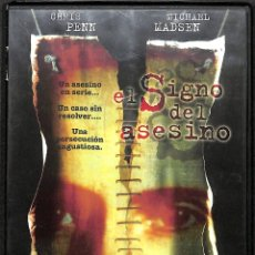 Cine: DVD EL SIGNO DEL ASESINO - CHRIS PENN, MICHAEL MADSEN. Lote 182329806