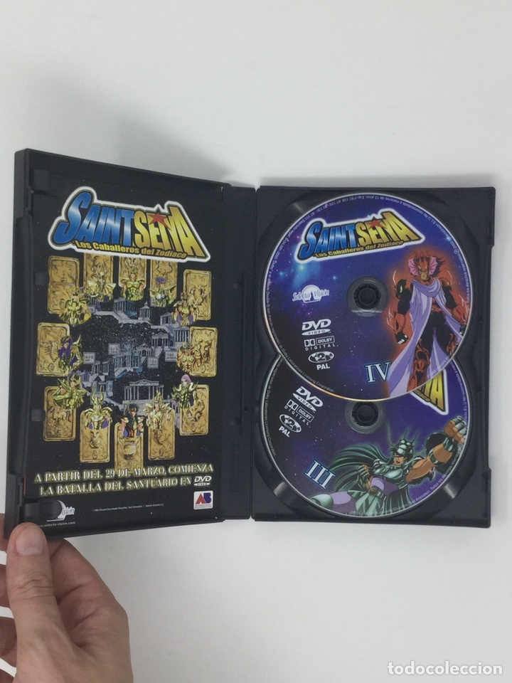 Cine: LOTE DVD CABALLEROS DEL ZODIACO VOL.I AL VOL. VIII EDICION REMASTERIZADA 2 DVD. - Foto 4 - 182306140