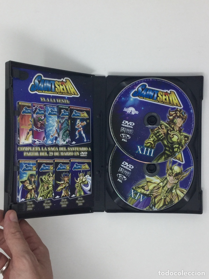 Cine: LOTE DVD CABALLEROS DEL ZODIACO VOL.I AL VOL. VIII EDICION REMASTERIZADA 2 DVD. - Foto 9 - 182306140