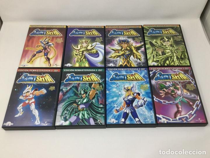 LOTE DVD CABALLEROS DEL ZODIACO VOL.I AL VOL. VIII EDICION REMASTERIZADA 2 DVD. (Cine - Películas - DVD)