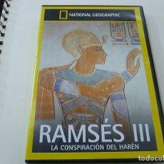 Cine: RAMSES III - LA CONSPIRACION DEL HAREN - DVD -N. Lote 182359283