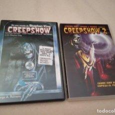 Cine: DVD CREEPSHOW 1 Y 2 GEORGE ROMERO 2 DISCOS. Lote 182367907