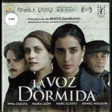 Cine: LA VOZ DORMIDA. - DVD. BENITO ZAMBRANO. ESPAÑA. 2011. DRAMA.. Lote 182374395