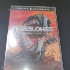 Cine: DVD - PACK SAGA TEMBLORES - 6 PELÍCULAS - PRECINTADO. Lote 182396997