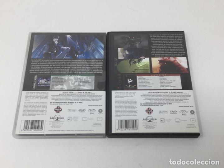Cine: LOTE DVD PELICULAS BLOOD EL ÚLTIMO VAMPIRO, GHOST IN THE SHELL. - Foto 2 - 182406002