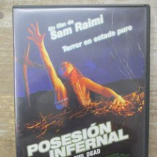 Cine: DVD - POSESION INFERNAL CON LIBRETO - PEDIDO MINIMO 4 PELICULAS O PEDIDO MINIMO DE 10€. Lote 182408235