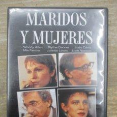 Cine: DVD - MARIDOS Y MUJERES - WOODY ALLEN - PEDIDO MINIMO 4 PELICULAS O PEDIDO MINIMO DE 10€. Lote 182511956