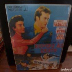 Cine: DVD WESTERN-RUMBO AL OESTE. Lote 195250178