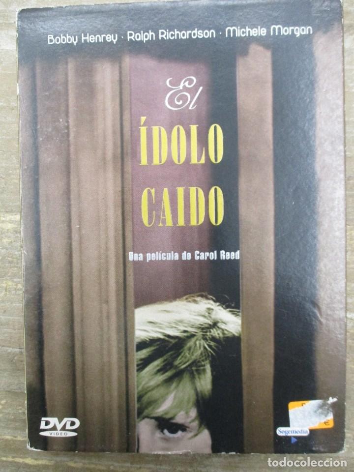 DVD - EL IDOLO CAIDO - PEDIDO MINIMO 4 PELICULAS O PEDIDO MINIMO DE 10€ (Cine - Películas - DVD)