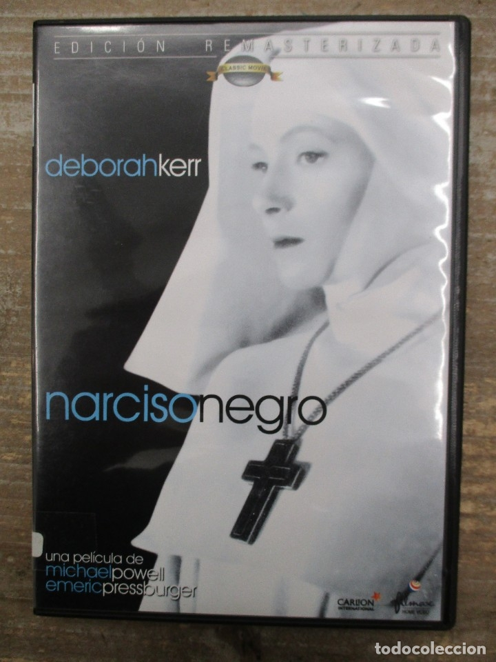 DVD - NARCISO NEGRO - DEBORAH KERR - PEDIDO MINIMO 4 PELICULAS O PEDIDO MINIMO DE 10€ (Cine - Películas - DVD)