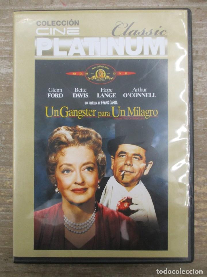 DVD - UN GANGSTER PARA UN MILAGRO - PEDIDO MINIMO 4 PELICULAS O PEDIDO MINIMO DE 10€ (Cine - Películas - DVD)
