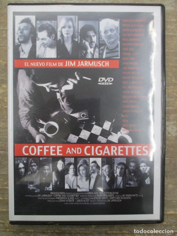 DVD - COFFEE AND CIGARRETTES JIM JARMUSCH - PEDIDO MINIMO 4 PELICULAS O PEDIDO MINIMO DE 10€ (Cine - Películas - DVD)