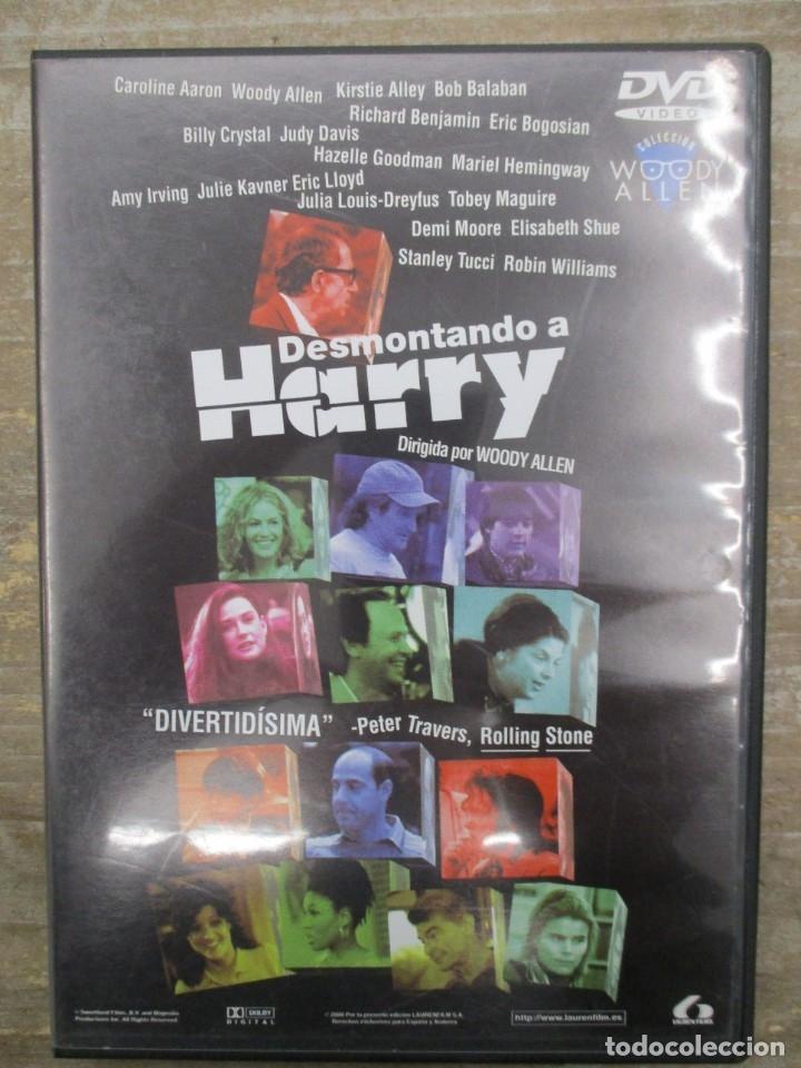 DVD - DESMONTANDO A HARRY - WOODY ALLEN - PEDIDO MINIMO 4 PELICULAS O PEDIDO MINIMO DE 10€ (Cine - Películas - DVD)