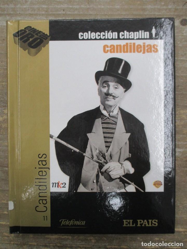 DVD - CANDILEJAS - CHAPLIN CON LIBRETO- PEDIDO MINIMO 4 PELICULAS O PEDIDO MINIMO DE 10€ (Cine - Películas - DVD)