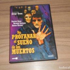 Cine: NO PROFANAR EL SUEÑO DE LOS MUERTOS DVD TERROR COMO NUEVA. Lote 182586083