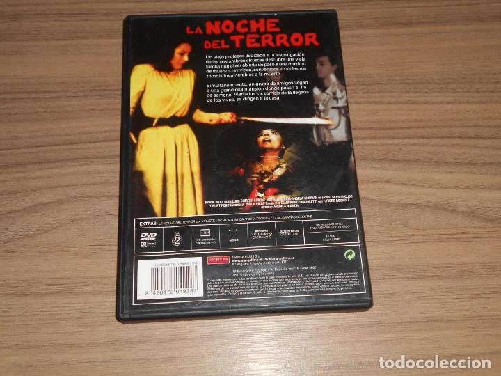 Cine: La NOCHE del TERROR DVD Mascre Zombi MANGA FILMS Como NUEVA - Foto 2 - 182588108