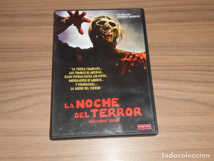 LA NOCHE DEL TERROR DVD MASCRE ZOMBI MANGA FILMS COMO NUEVA (Cine - Películas - DVD)