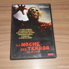 Cine: LA NOCHE DEL TERROR DVD MASCRE ZOMBI MANGA FILMS COMO NUEVA . Lote 182588108