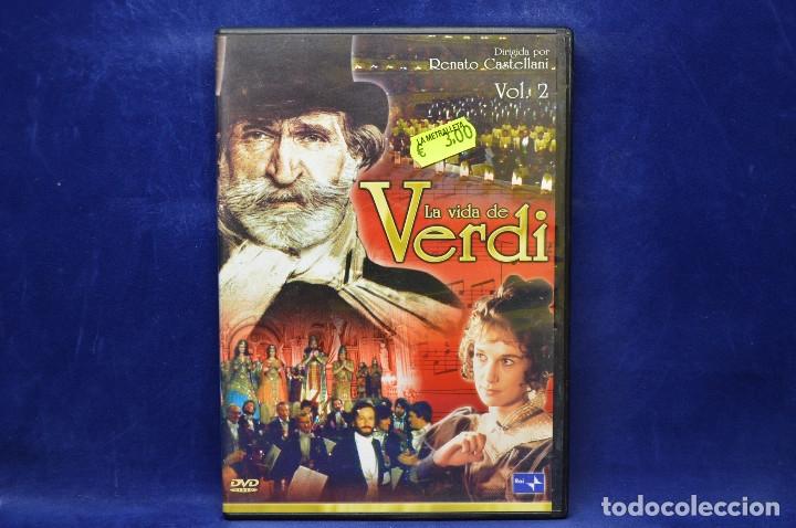 LA VIDA DE VERDI - DVD (Cine - Películas - DVD)