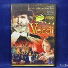 Cine: LA VIDA DE VERDI - DVD . Lote 182613573