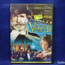 Cine: LA VIDA DE VERDI - VOL 7 - DVD. Lote 182618081