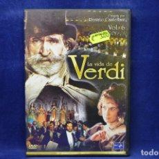 Cine: LA VIDA DE VERDI - VOL 6 - DVD. Lote 182618271