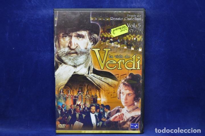 LA VIDA DE VERDI - VOL 5 - DVD (Cine - Películas - DVD)