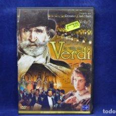 Cine: LA VIDA DE VERDI - VOL 5 - DVD. Lote 182618536