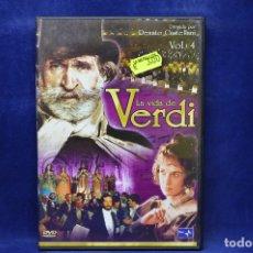 Cine: LA VIDA DE VERDI - VOL 4 - DVD. Lote 182618721