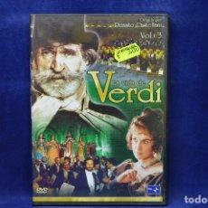 Cine: LA VIDA DE VERDI - VOL 3 - DVD. Lote 182618798