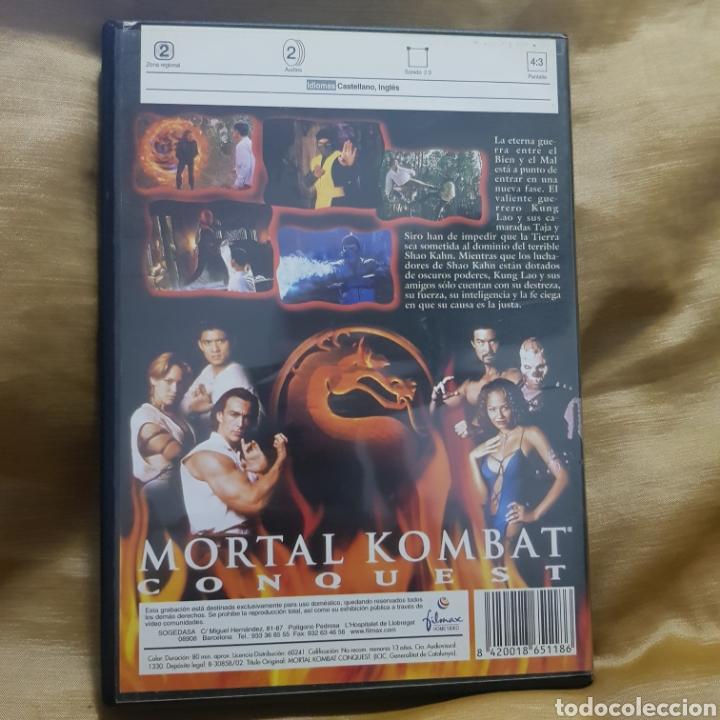 Cine: (S234) mortal kombat conquest - DVD SEGUNDAMANO - Foto 2 - 182642891