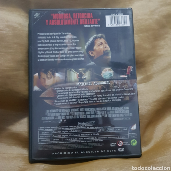 Cine: (S234) hostel - DVD SEGUNDAMANO - Foto 2 - 182643028