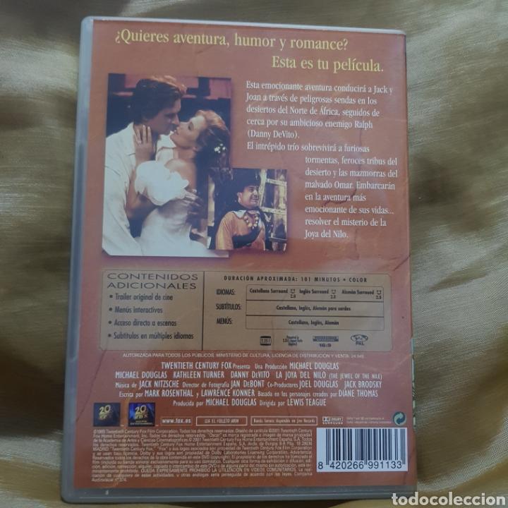 Cine: (S234) la joya del nilo - DVD SEGUNDAMANO - Foto 2 - 182643217