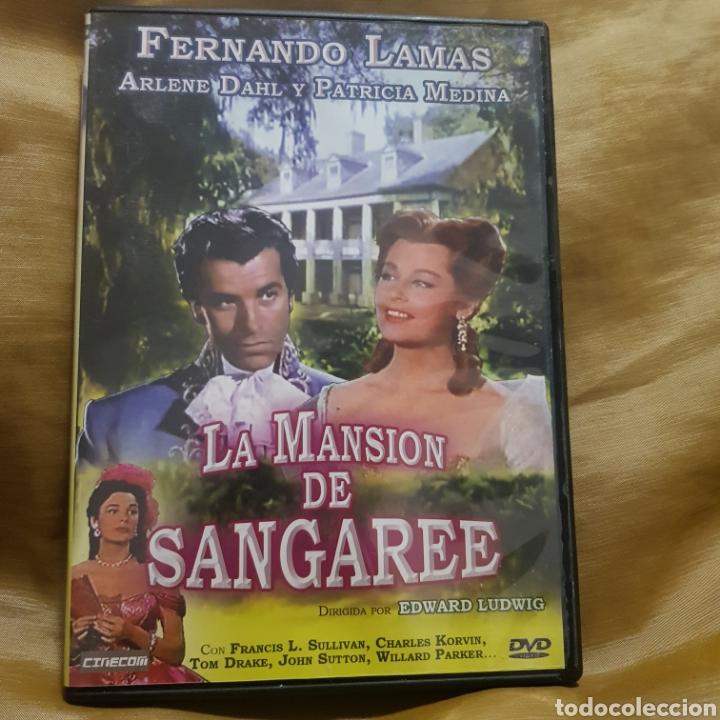 (S234) LA MANSIÓN DE SANGAREE - DVD SEGUNDAMANO (Cine - Películas - DVD)